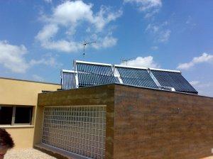 Instalación solar térmica ACS y calefacción
